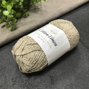 пряжа Infinity Design Cotton Linen 2331 (беж)