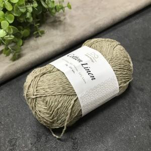 пряжа Infinity Design Cotton Linen 2541 (беж)