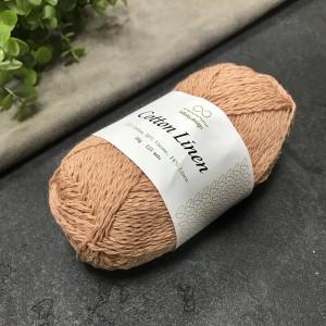 пряжа Infinity Design Cotton Linen 3532 (пудра)