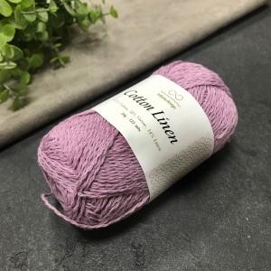 пряжа Infinity Design Cotton Linen 4642 (светлый вереск)