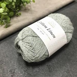 пряжа Infinity Design Cotton Linen 6841 (голубая вода)