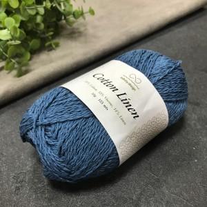пряжа Infinity Design Cotton Linen 6554 (петроль)
