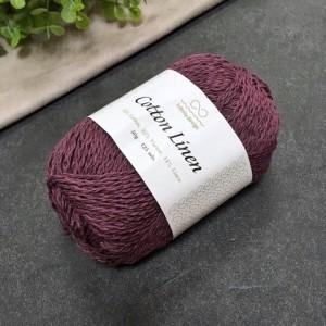 пряжа Infinity Design Cotton Linen 4362 (изюм)