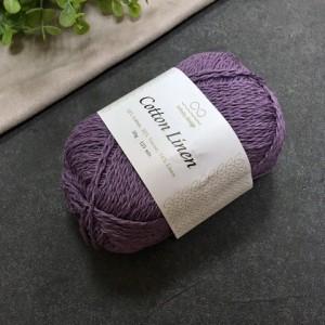 пряжа Infinity Design Cotton Linen 5052 (вереск)