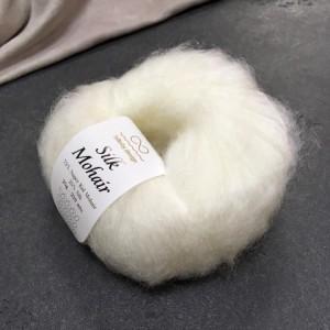 пряжа Infinity Design Silk Mohair 1001 (белая)