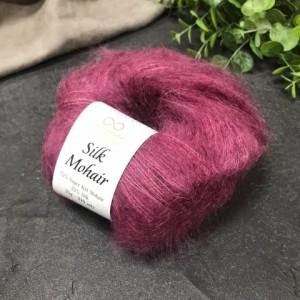 пряжа Infinity Design Silk Mohair 4853 (малина)