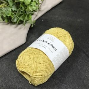 пряжа Infinity Design Cotton Linen 2124 (ваниль)