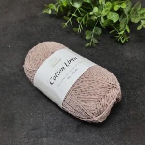 пряжа Infinity Design Cotton Linen 4621 (пыльная сирень)