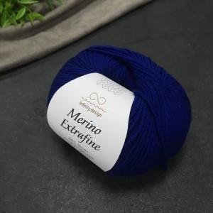 Пряжа Merino Extrafine Infininy design 5575 (черника)