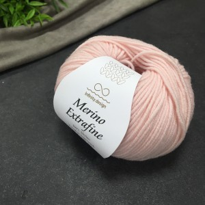 Пряжа Merino Extrafine Infininy design 3511 (сахарная вата)