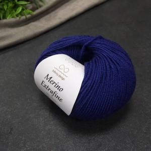 Пряжа Merino Extrafine Infininy design 6052 (королевский синий)
