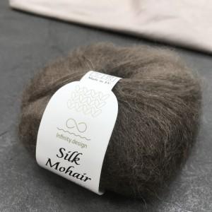 пряжа Infinity Design Silk Mohair 3082 (тауп)