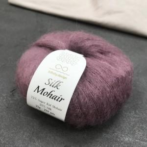 пряжа Infinity Design Silk Mohair 4331 (пыльная сирень)