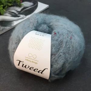 Пряжа Infinity Design Tweed 7710 (пыльный голубой)