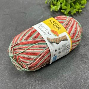 Пряжа Cotton Tutti Frutti Color 02421 (сочный арбуз)