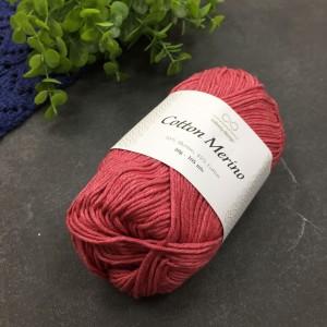 пряжа Infinity Design Cotton Merino 4327 (брусника)