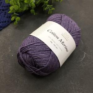 пряжа Infinity Design Cotton Merino 5042 (лиловый)