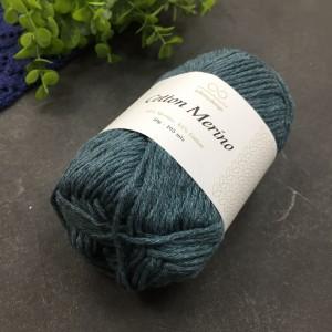 пряжа Infinity Design Cotton Merino 6862 (петроль)
