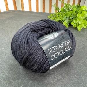 Пряжа Lana Grossa Alta Moda Cotolana 029 (темный синий)