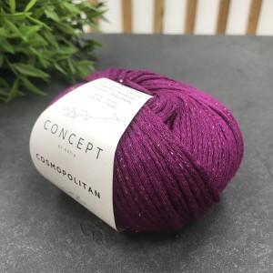 Пряжа Katia by Concept Cosmopolitan 93 (пурпурный)