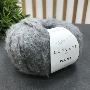 Пряжа Katia by Concept Pluma 79 (темно-серый)