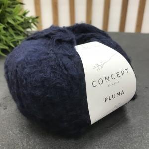 Пряжа Katia by Concept Pluma 80 (темная ночь)