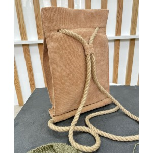 Проектная сумка-рюкзак (карамель)