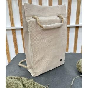 Проектная сумка - рюкзак (беж)