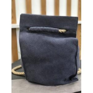Проектная сумка - рюкзак (джинс)