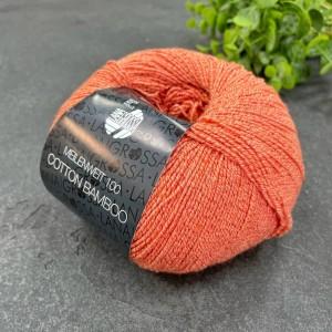 Пряжа MEILENWEIT Cotton Bamboo 18 (оранжевый)