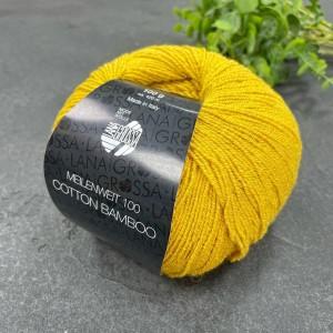 Пряжа MEILENWEIT Cotton Bamboo 3 (желтый)