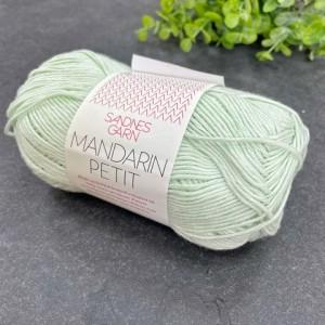Пряжа Sandnes Garn Mandarin Petit 8511 (мятный)