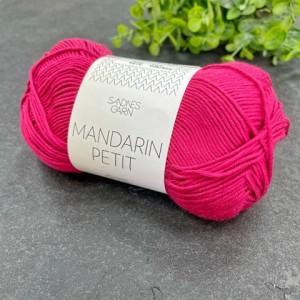 Пряжа Sandnes Garn Mandarin Petit 4518 (вишневый)
