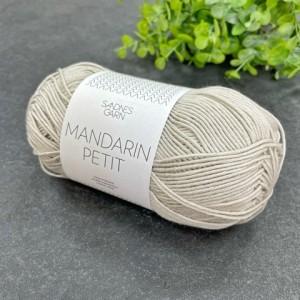 Пряжа Sandnes Garn Mandarin Petit 2205 (светлый беж)