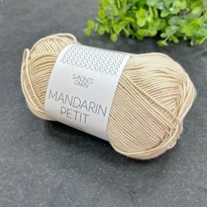 Пряжа Sandnes Garn Mandarin Petit 3011 (миндальный)