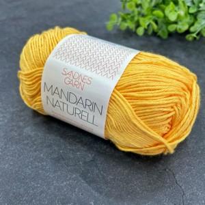 Пряжа Sandnes Garn Mandarin Naturell 2206 (солнечный)