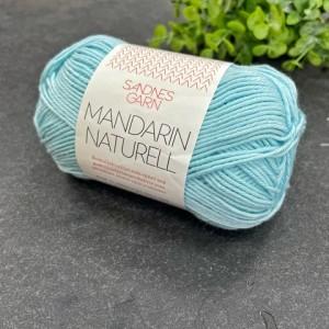 Пряжа Sandnes Garn Mandarin Naturell 6803 (мятный)