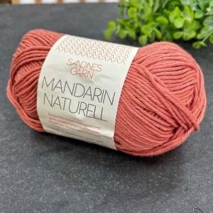 Пряжа Sandnes Garn Mandarin Naturell 4234 (терракот)