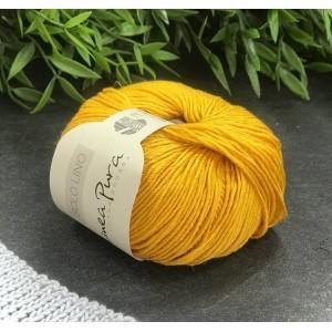 Пряжа Lana Grossa Solo Lino 042 (жёлтая кукуруза)