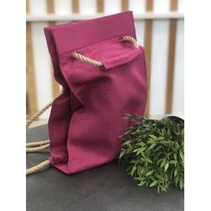 Проектная сумка-рюкзак (фуксия)