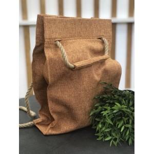 Проектная сумка-рюкзак (терракот)