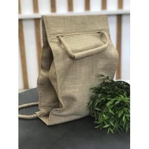 Проектная сумка-рюкзак (лен)
