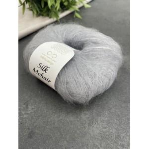 пряжа Infinity Design Silk Mohair 1032 (жемчужно-серая)