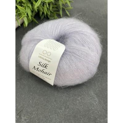 пряжа Infinity Design Silk Mohair 7610 (пепельный)