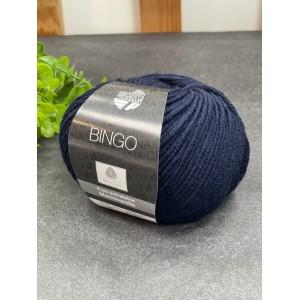 Пряжа Bingo 08 (темно синий)