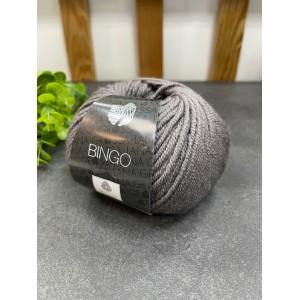 Пряжа Bingo 129 (серо-коричневый)