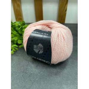 Пряжа COOL MERINO 010 (нежно розовый)