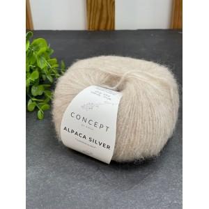 Пряжа Katia by Concept Alpaca Silver 268 (молочно-бежевый)