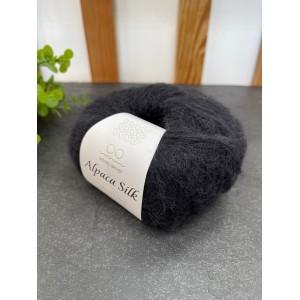 Пряжа Alpaca Silk 1099 (черный)