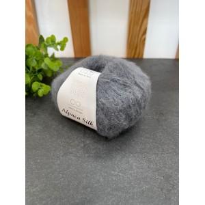 Пряжа Alpaca Silk 1053 (темно серый)